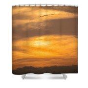 Clouds Ahuachapan 2 Shower Curtain