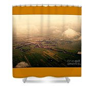 Clouds And Mist - Amsterdam Shower Curtain