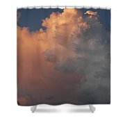 Clouds And More Clouds Shower Curtain