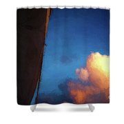 Clouds And Sails Shower Curtain