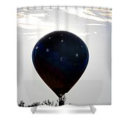 Clouds And Stars                                   Shower Curtain