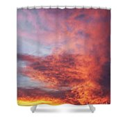 Clouds At Dawn Shower Curtain