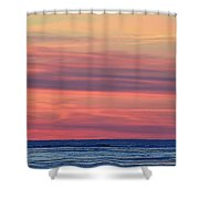 Clouds At Sunrise Two  Shower Curtain