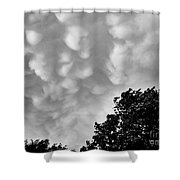 Clouds Before The Storm Shower Curtain