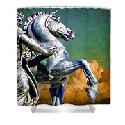 Clouds By Pegasus Shower Curtain