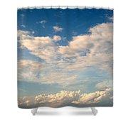 Clouds Clouds Clouds Shower Curtain