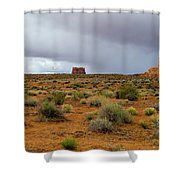 Clouds Coming Shower Curtain