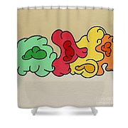 Clouds Drifting By Shower Curtain