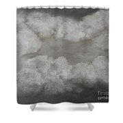 Clouds For Mary Beth Shower Curtain