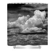 Clouds I I Shower Curtain