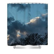 Clouds In Afternoon 20170326 7199 Shower Curtain