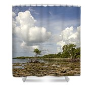 Clouds In The Keys 2 Shower Curtain