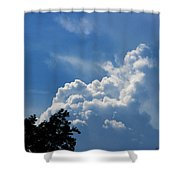 Clouds Of Art Shower Curtain