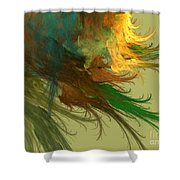Clouds Of Color Shower Curtain