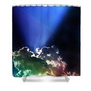 Clouds Of Faith Shower Curtain