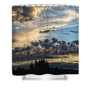 Clouds Of Oregon Shower Curtain