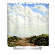 Clouds Of Spring Shower Curtain