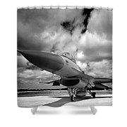 Clouds Of War Shower Curtain