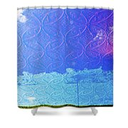 Clouds On The Ceiling Shower Curtain