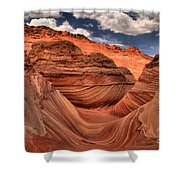 Clouds Over Coyote Buttes North Shower Curtain
