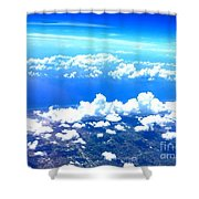 Clouds Over Florida Shower Curtain