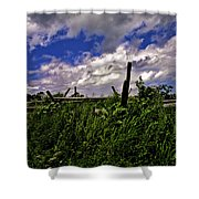 Clouds Over Gettysburg Shower Curtain