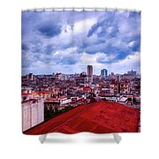 Clouds Over Havana Shower Curtain