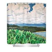 Clouds Over Kauai Shower Curtain