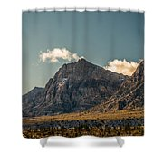 Clouds Over Red Rock Canyon Shower Curtain