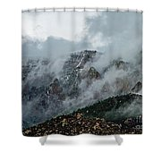 Clouds Over Sandia Shower Curtain