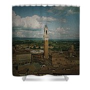 Clouds Over Siena Shower Curtain