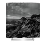Clouds Over The Isle Of Skye Shower Curtain