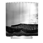 Clouds  Over The Mesa Shower Curtain