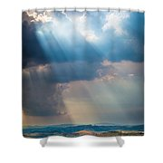 Clouds Over Tuscany Shower Curtain