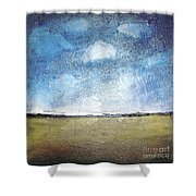 Flying Clouds Shower Curtain
