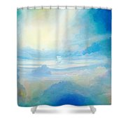 Cloud's Sea Shower Curtain