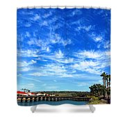 Clouds That Whisper2 Shower Curtain