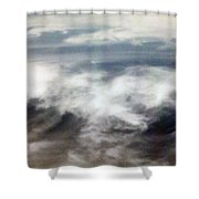 Clouds Tides Shower Curtain