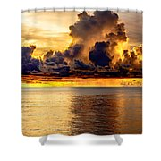 Clouds Within The Clouds Shower Curtain