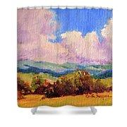Cloudscape 2 Shower Curtain