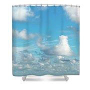 Cloudscape A Fine Day Shower Curtain
