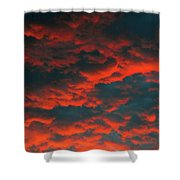Cloudscape A1 Shower Curtain
