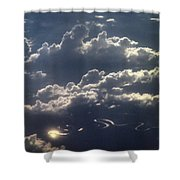 Cloudscape And River Shower Curtain