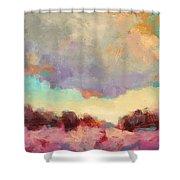 Cloudspangle Shower Curtain