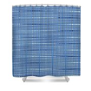 Cloudy Day Fabric Design Shower Curtain