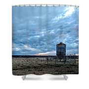 Cloudy Day On The Ranch Shower Curtain