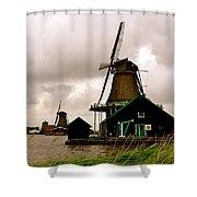 Cloudy Holland Shower Curtain
