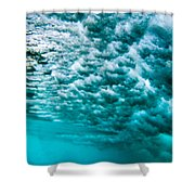Cloudy Water Shower Curtain