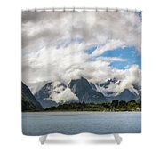 Cloudy With A Chance Of Beautiful Photo Shower Curtain