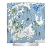 Cloudy With Whimsy Shower Curtain